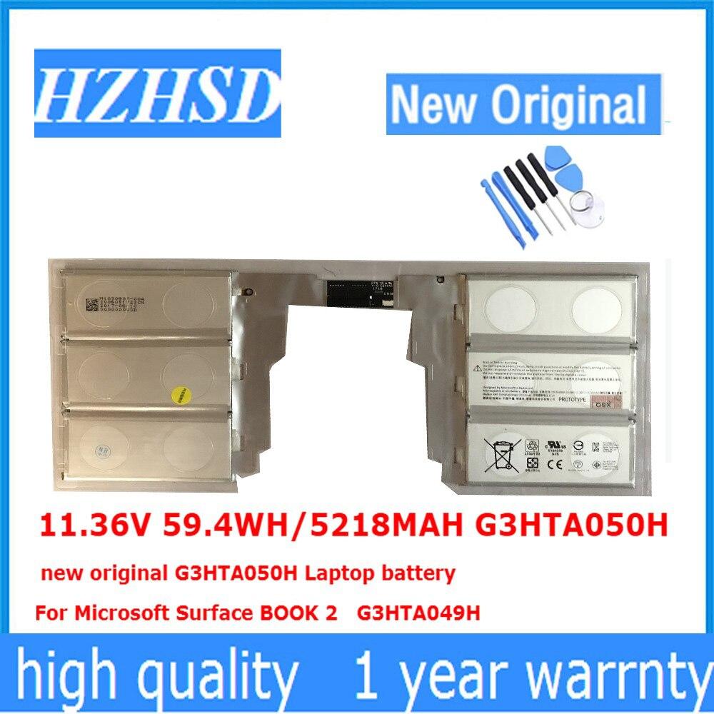 11.36V 59.4WH/5218MAH G3HTA050H new original G3HTA050H Laptop battery For Microsoft Surface BOOK 2 G3HTA049H