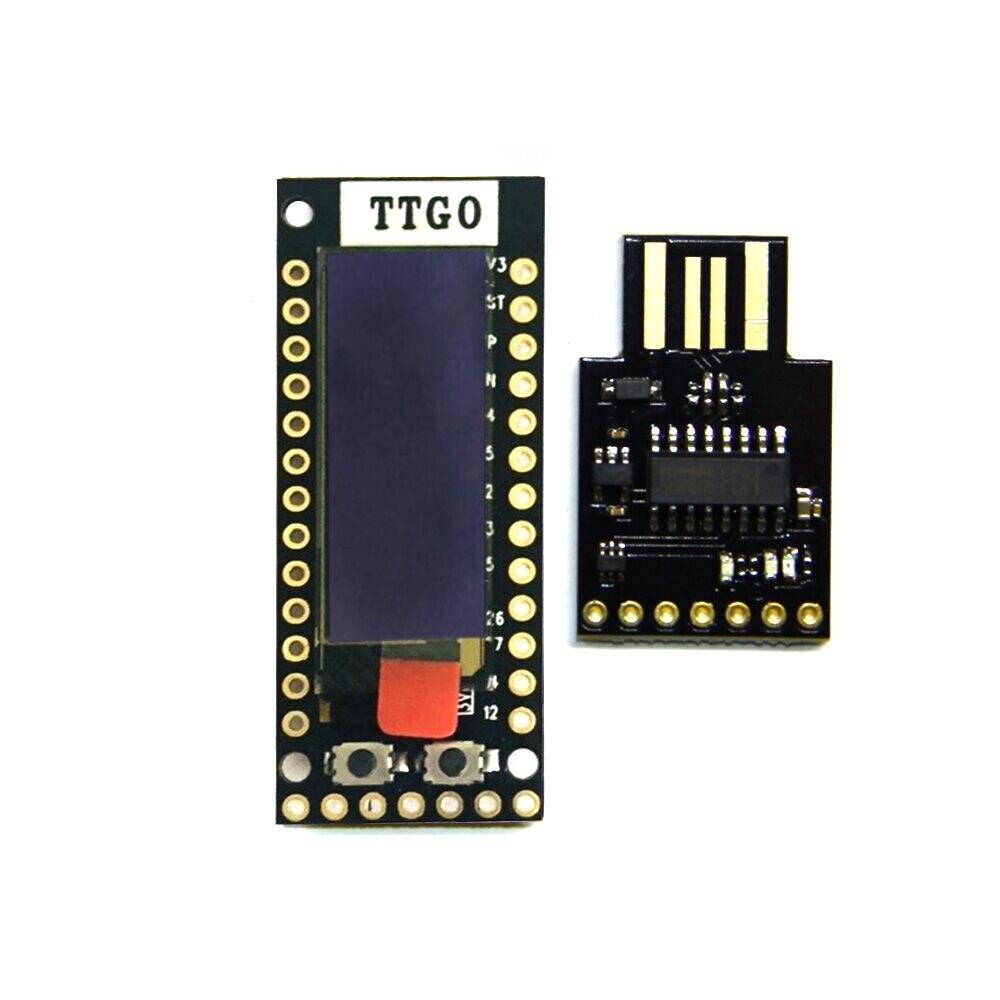 LILYGO®TTGO TQ ESP32 0,91 OLED WIFI Bluetooth módulo IoT placa prototipo