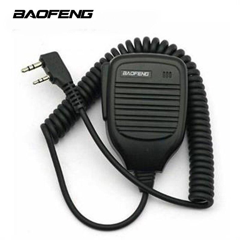 Baofeng спикер 2 Pin BF-S112 3,5 мм до 2,5 мм ручной двухсторонней рации радио спикер микрофон UV-5R 888S