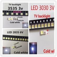 For LG tv backlight 7030 2835 3030 3535 4020 3V 6V kit electronique Cool white SAMSUNG SEOUL UNI 0.5W 1W 2828 4014  6030 10PCS