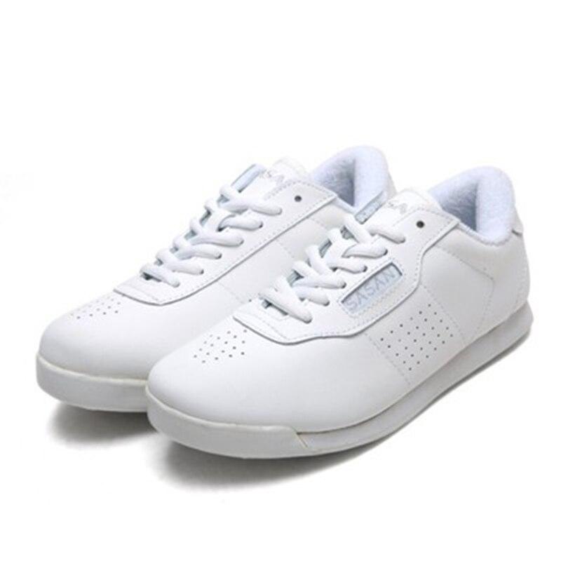SASAN Sprinkle zapatillas blancas de entrenamiento aeróbico atlético, zapatos para hombres y mujeres, zapatos de baile de competición, nueva fábrica al por mayor 8880
