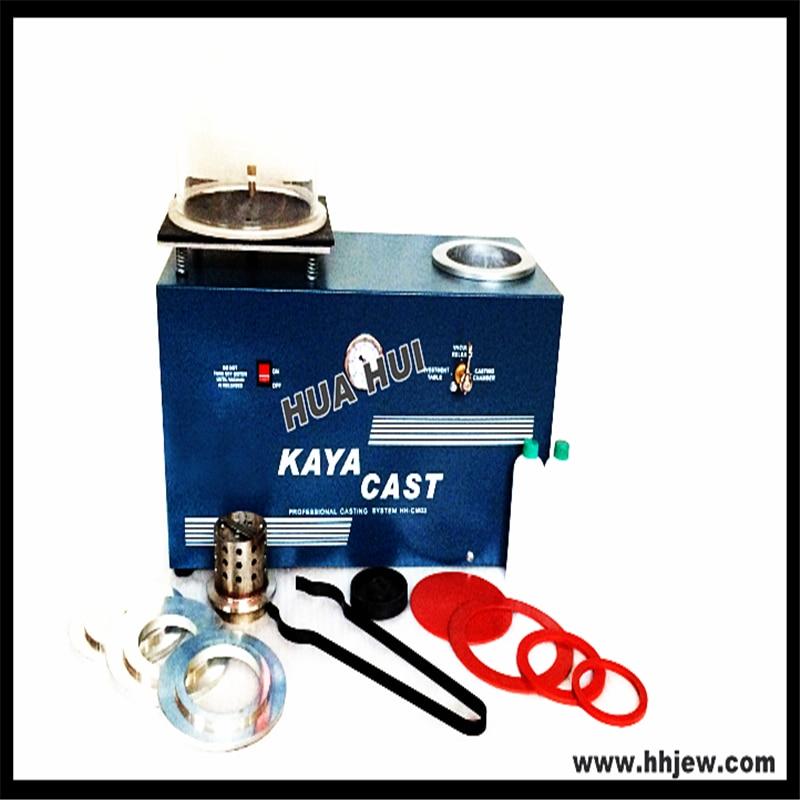 Free Shipping Jewelry Tools 4L KAYA Vacuum Investing Casting Machine, Jewelry Lost Wax Cast Combination