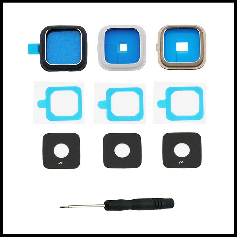 Para Samsung Galaxy Note 4 N910 N9100 N910F N910C N910G N910A/H/V/P carcasa de teléfono lente de vidrio protector de cámara trasera con herramienta