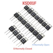 KSD-01F/JUC-31F contrôle thermique de relais de commutateur de température à-220 normalement ouvert/fermé 40/45/50/55/60/65/~ 150 centigrades