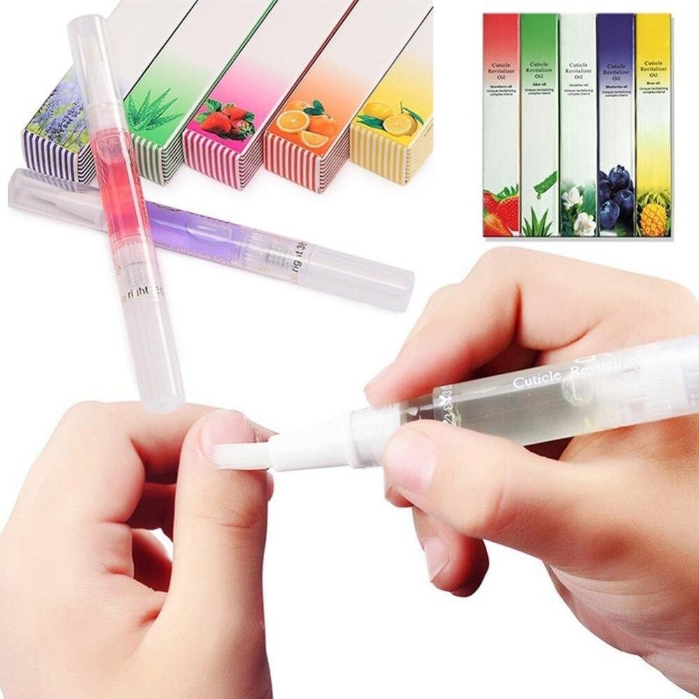 5ml Nail Nutrition Oil Pen Nail Treatment Pen 15 Smell Cuticle Revitalizer Oil Prevent Agnail Nail Gel Polish Nourish Skin