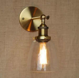 IWHD Glass Vintage LED Wall Lights For Home Lighting Loft Style Arandela Edison Industrial Wall Sconce Arandela