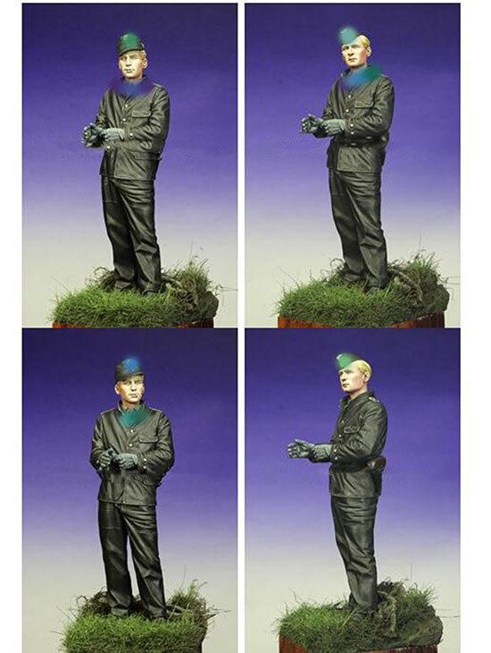 Kit sin pintar 1/16 120mm legión soldado 120mm figura histórica resina figura miniatura Kit de Modelismo