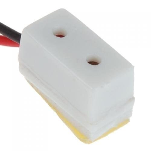MACH Beste Verkauf Puppenhaus Miniatur 9V Batterie Stecker w/Draht und Einzigen Behälter LA005