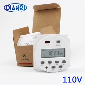 Stable Quality CN101A AC 110V 120V Digital LCD Power Timer Programmable Time Switch Relay 8A TO 16A CN101 TIMER weekly Time