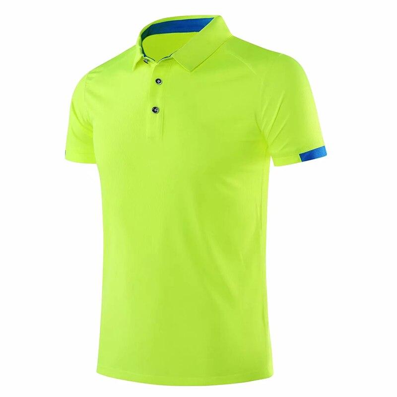 2020 חדש גברים גולף חולצות חיצוני ספורט קצר שרוול נשים גולף polos חולצה בדמינטון ריצה כדורגל גופיות חדר כושר חולצות