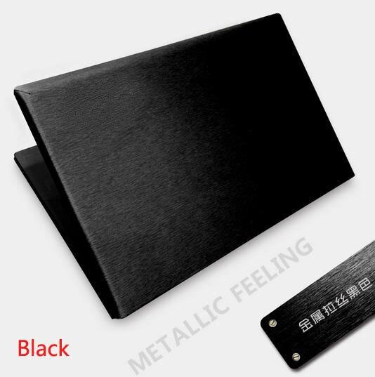 """Especial KH portátil cepillado etiqueta engomada de la cubierta de la piel Protector para HP ENVY 13-ab023TU 13"""""""