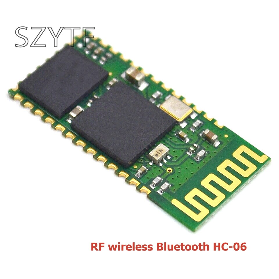 10 pièces/lot hc-06 HC 06 RF sans fil Bluetooth émetteur-récepteur esclave Module RS232 / TTL vers UART convertisseur et adaptateur