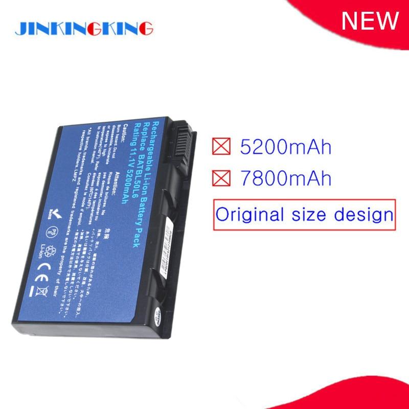 BATBL50L6 batería del ordenador portátil para Acer Aspire 5630, 5650, 5680, 9110,...