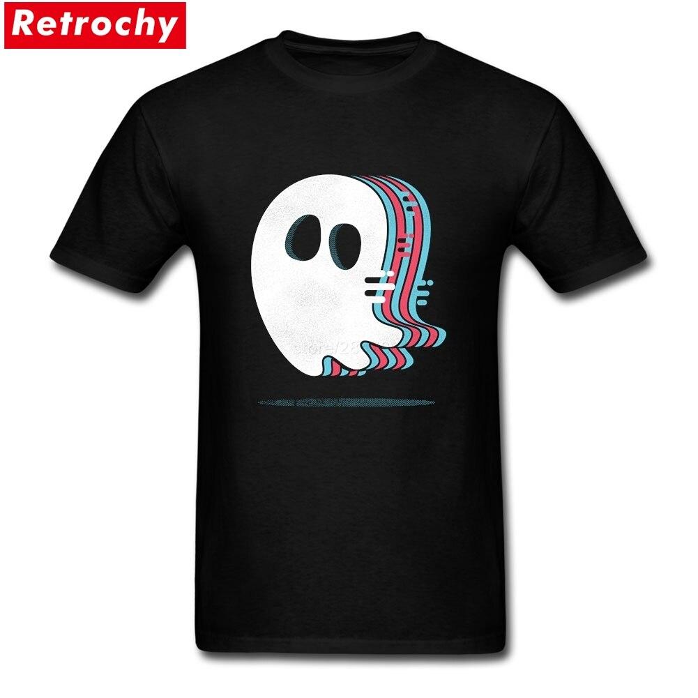 Ghost hunter comprar camisetas en línea Cool Shirt hombre de manga corta Día del Padre XXXL