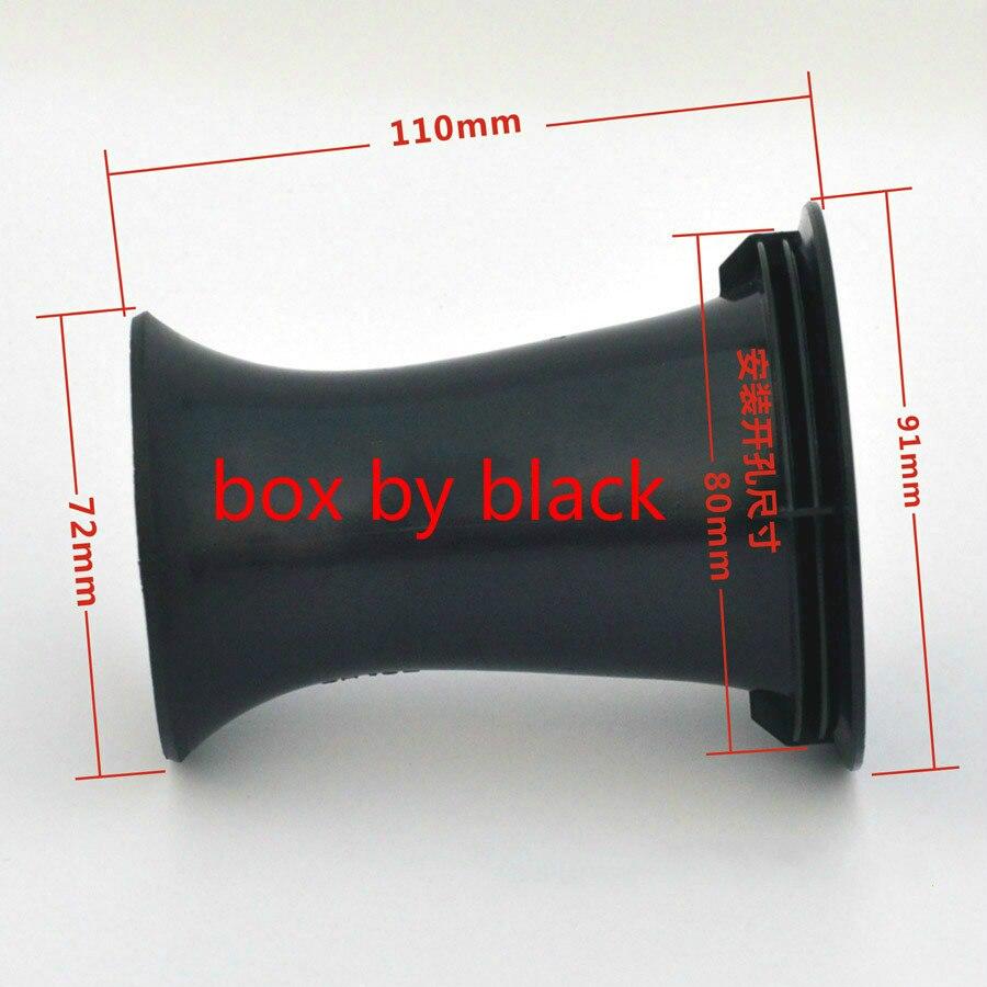 80x110mm Subwoofer Woofer Lautsprecher Port Rohr Bass Reflex Rohr Lautsprecher Vent 80x110mm