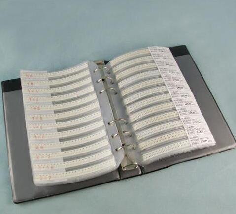 170valuesX50 Uds = 8500 Uds 0805 1% 0R-10M ohm SMD Kit de resistencia de RC0805 FR-07 serie muestra libro Kit de Muestra