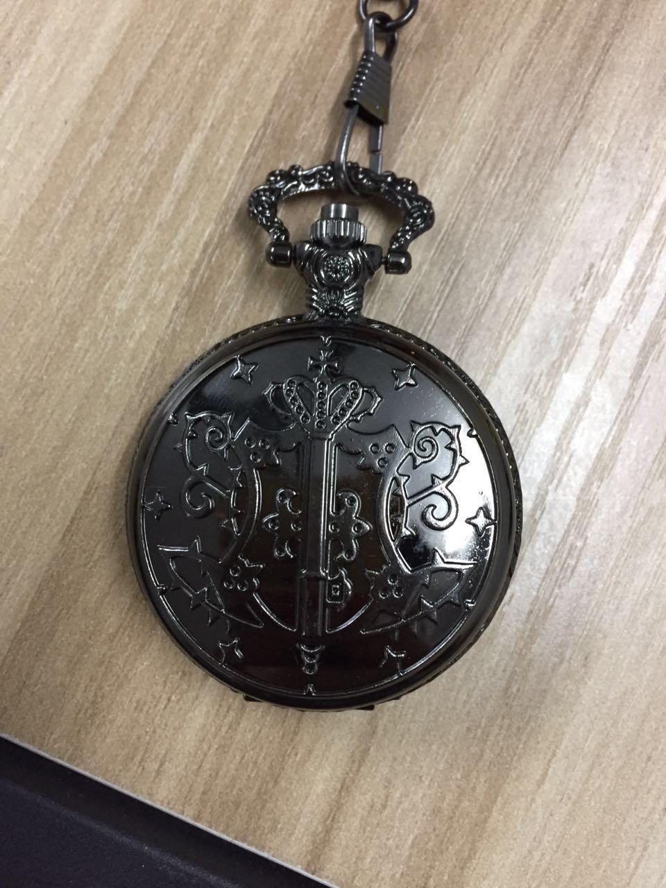 Кварцевые карманные часы TIEDAN, аналоговые в виде кулона, ожерелье
