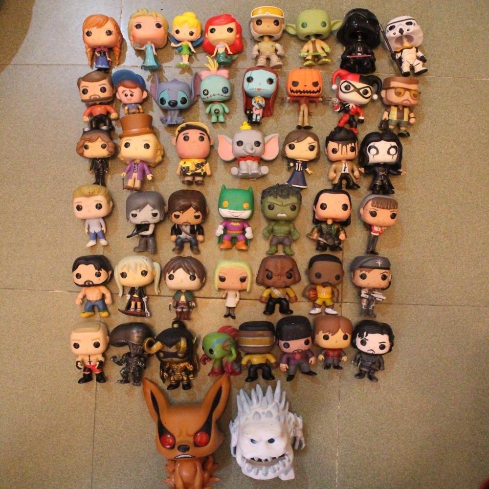 Идеальный Funko POP TV Бэтмен, Халк, стежок, Звездные войны, пробуждение мертвых, Кошмар перед Рождеством свободная фигурка игрушка без коробки