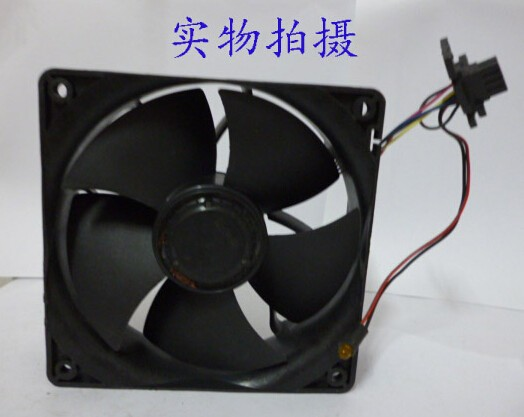 The original NIDEC V12E12BS1B5-07 138 12V 1.85A four line PWM violent fan