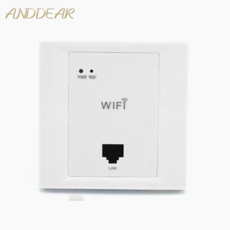 ANDDEAR-WiFi inalámbrico para pared, punto de acceso para enrutador AP, blanco, alta...