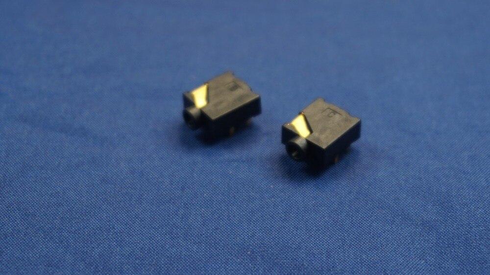1000 قطعة 2.5 مللي متر الصوت جاك 5 الاتصالات 3 الموصلات ل TRS ستيريو التوصيل من خلال ثقب الحق زاوية مجلس دليل الذهب لوحة DC30V 0.5A