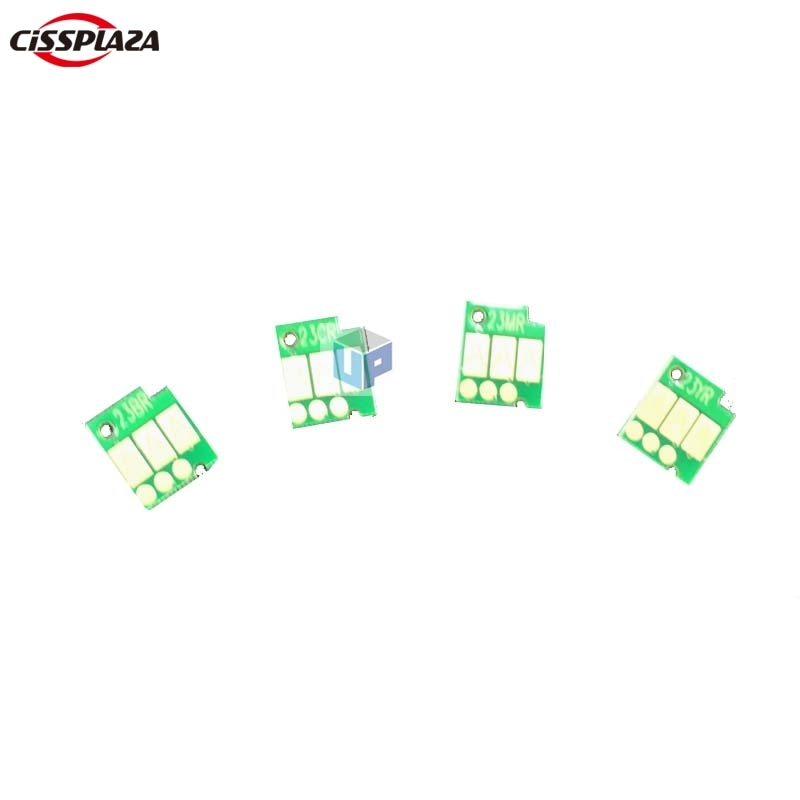 CISSPLAZA 4 Uds Auto resto Chip compatible hermano LC121 LC123 LC125 LC127 DCP-J132W/J152W J172 J552 J752 J4110 J6520 J4710