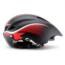 Casque de cyclisme EPS lentilles coupe-vent intégralement moulé casque de vélo hommes route de montagne femmes vtt casque de vélo Casco Ciclismo