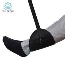 Smelov commercio allingrosso portatile sedia da ufficio a casa del piede amaca viaggio outdoor indoor Mini piede piedi resto amaca nero