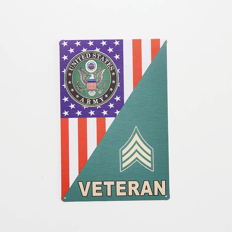 Carteles de metal veterano para Bar, Pub, hogar, pared, carteles de arte, placas de decoración Vintage, placas de 20x30 CM