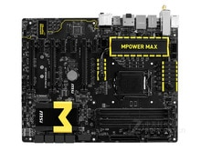 Original placa madre MSI Z97 MPOWER MAX AC LGA 1150 DDR3 LGA 1150 i3 i5 i7 DDR3 32G SATA3 USB2.0 USB3.0 Z97 envío gratis