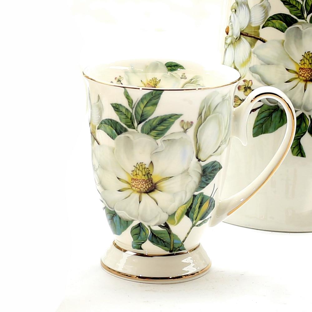 Taza de café de cerámica taza de leche taza de beber Kapok patrón taza de té Simple y creativa decoración del hogar