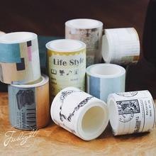 Eno Gruß Vintage washi band scrapbooking masking tape für kugel journal band aufkleber decoupage