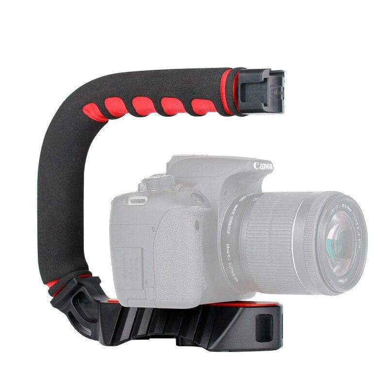 Ulanzi U-グリッププロビデオアクション安定化とハンドルグリップ 3 靴マウント iphone デジタル一眼レフカメラビデオカメラの Gopro ヒーロー 7 6 5