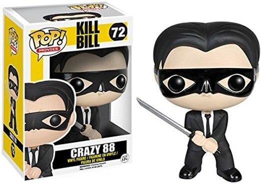 Оригинальный Funko pop Movies: Kill Bill - Crazy 88 Виниловая фигурка Коллекционная модель игрушки с оригинальной коробкой