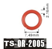 free shipping Tenso 7.49x2.16mm For Mazda Car Fuel Injector  O'Rings ORings O Rings O-Rings TS2005