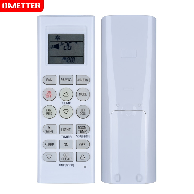 eu us k 1038e air conditioner universal remote control low power consumption time on off function easy to set up air conditioner Suitable for LG AKB73315601 KTLG007 AKB73456109 air conditioner remote control