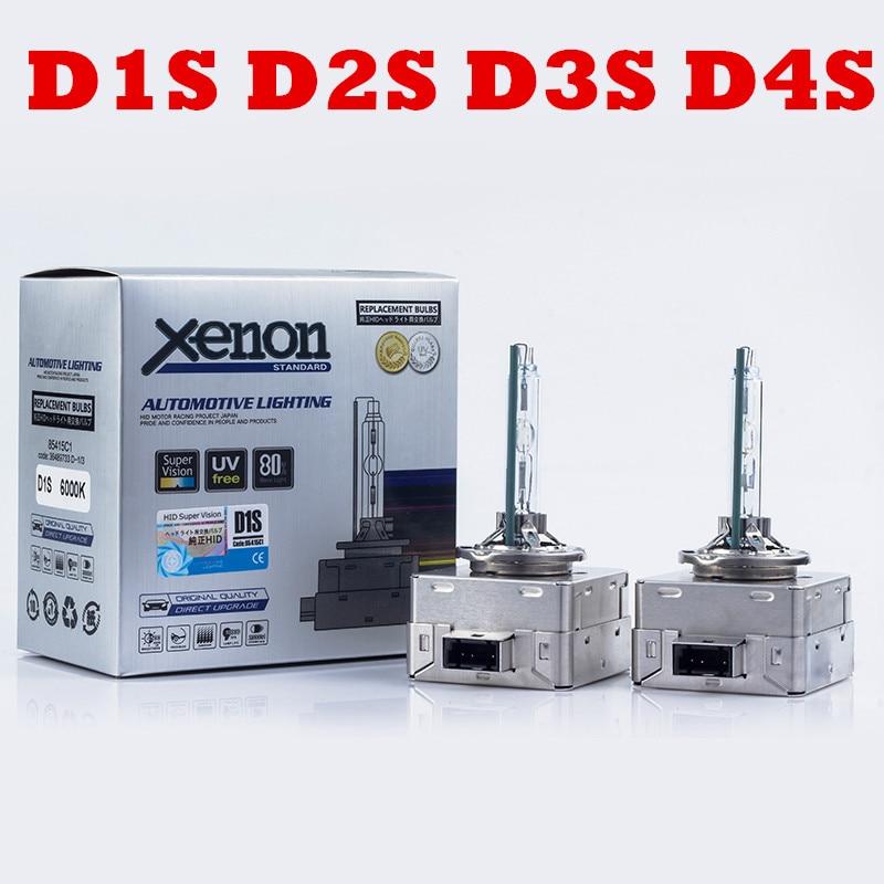 Alta calidad 35W hid xenon D1S D3S de Xenón HID D1S D2S D4S bombillas 4300K 6000K 8000K