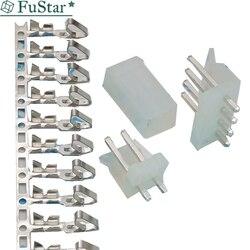 Conjuntos 2139 CH3.96 10 2/3/4/5/6/7/8/9/ 10 pin conector PASSO de 3.96 MM Em Linha Reta pin header + Habitação + terminal ch3.96-2 p/3 p /4 p/5 p/6 p