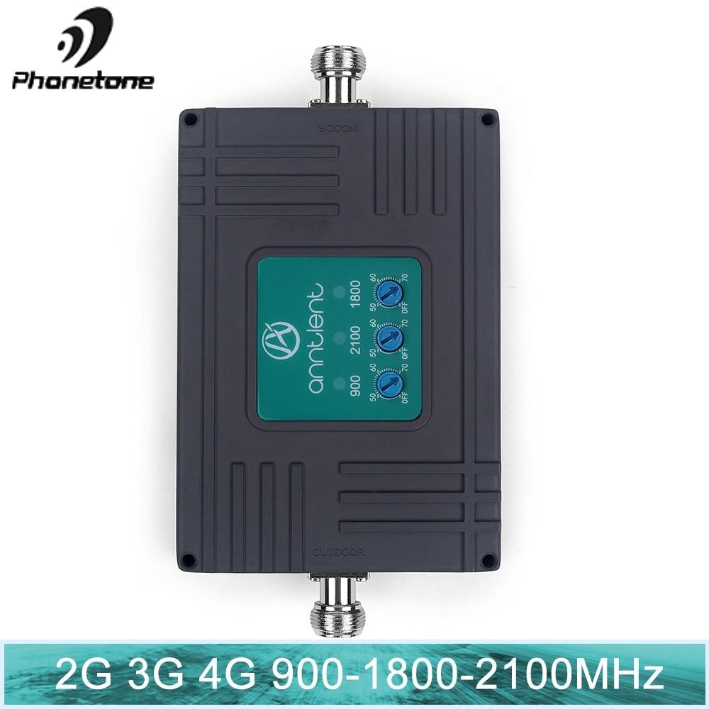Amplificador de señal 2G 3G tribanda móvil LTE 2g 3g 4g 850 1900 1700 amplificador 3g 4G con repetidor de señal móvil
