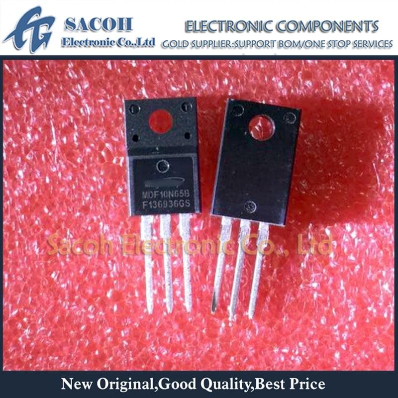 Envío gratis 10 Uds MDF10N65B o MDF10N65BTH o MDF10N60B o MDF10N60G o SVF10N65F TO-220F 10A 650V MOSFET de potencia