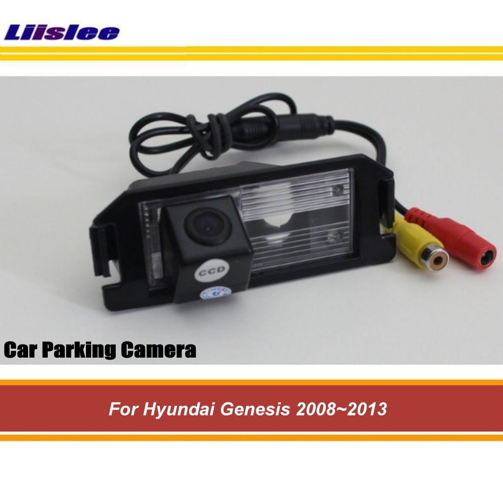 Rear View Back Up Reverse Rearview Parking Camera For Hyundai Genesis 2008-2011 2012 2013 AUTO HD SONY CCD III CAM