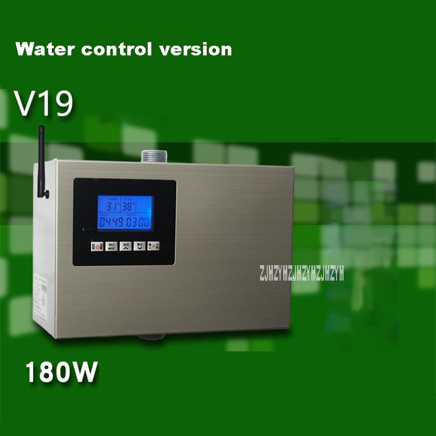 V19 aço inoxidável aparelho de recuperação água energia do ar doméstico automático bomba água quente sistema circulação 180w