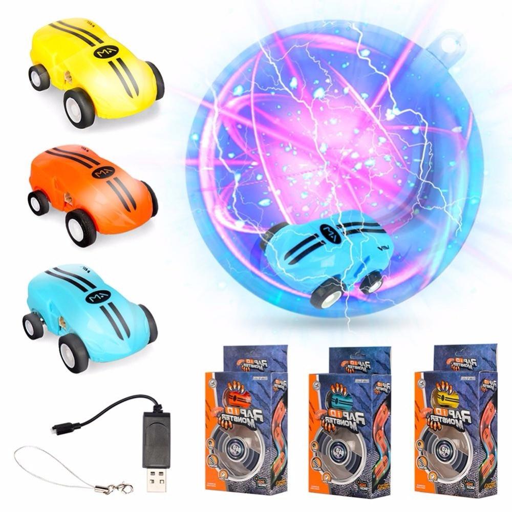 Hishopkins de alta velocidad mini elektrische auto 360 de rotación modell truco de kinder Modelle mit Blendenden Lichtern Juguetes