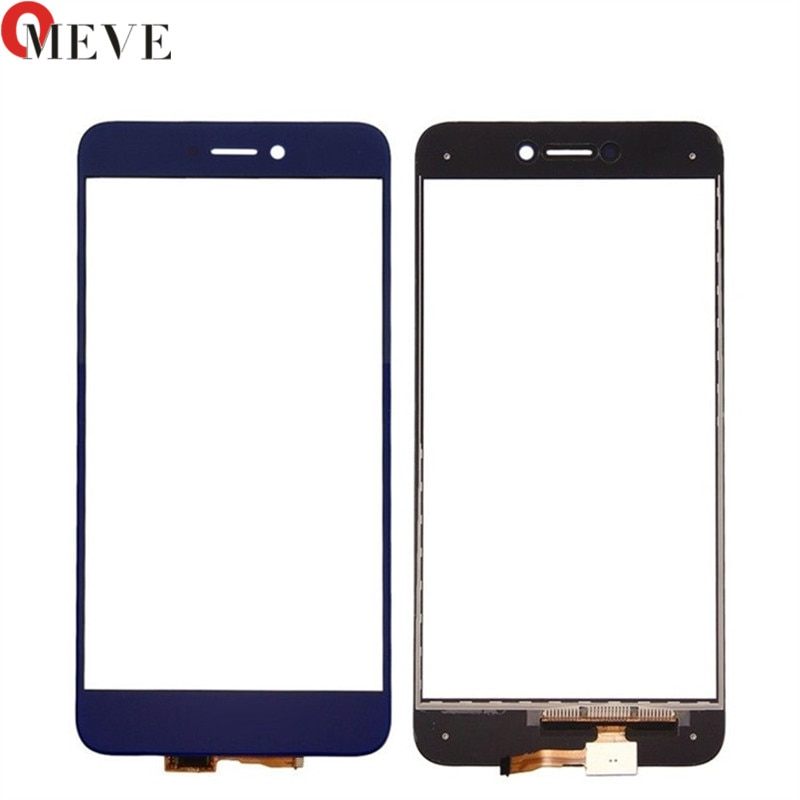 2 unids/lote 5,2 para HuaWei Honor 8 Lite pantalla táctil de cristal Panel digitalizador pantalla táctil Sensor de lente de vidrio frontal