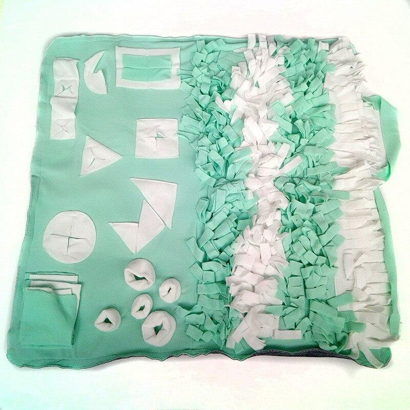 Pet Training Mat Dog Foldable Machine Washable Sniffing Pad Snack Finding Feeding Play Blanket