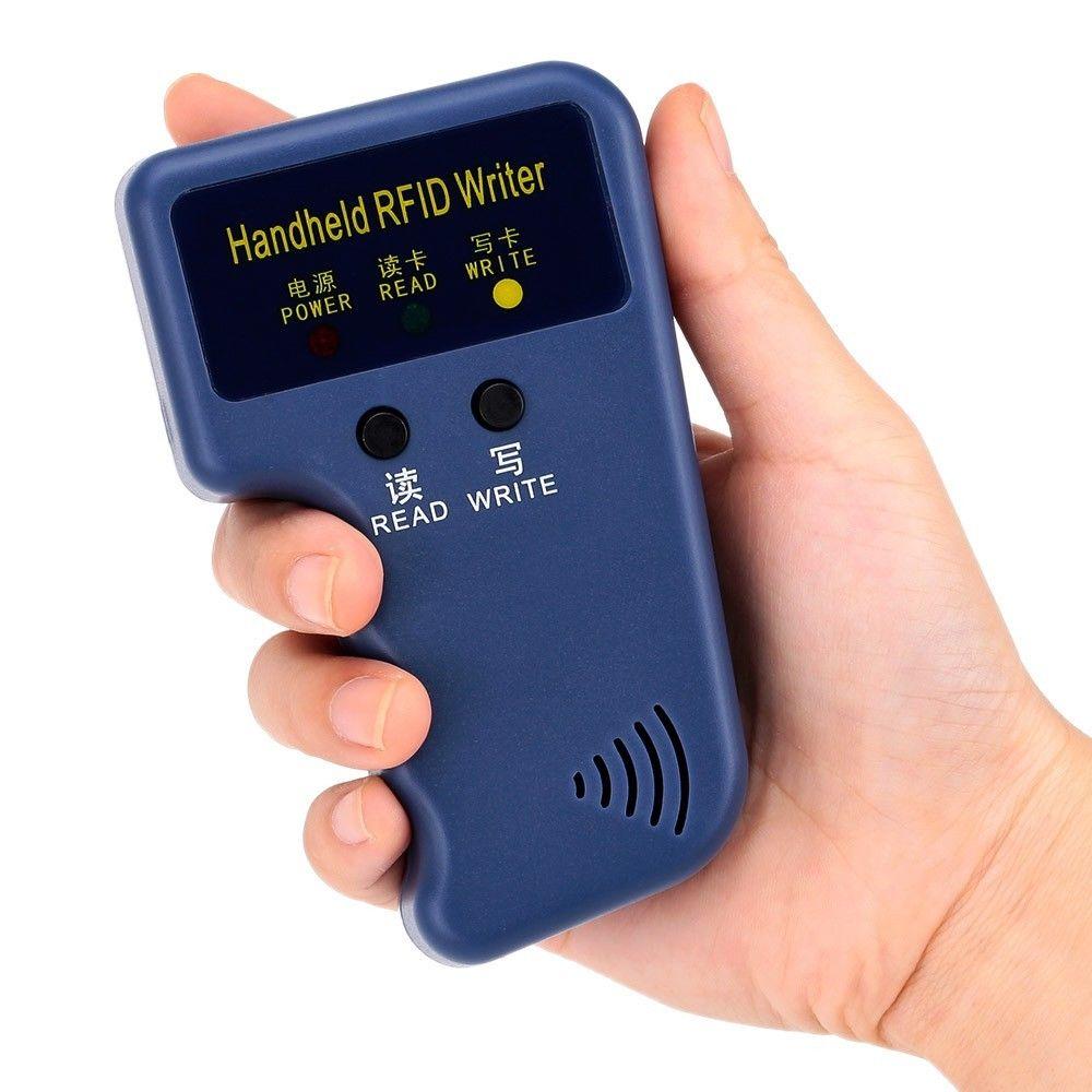 125KHz programador RFID Prox Cloner duplicador de tarjeta copiadora lector escritor + 5 uds T5577 EM4305 llavero