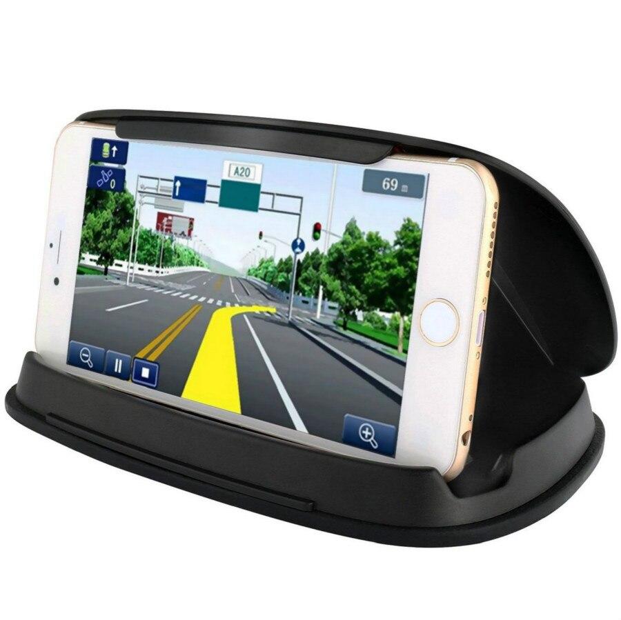 Универсальный автомобильный держатель для телефона с клипсой 3,0-7,0 дюйма, GPS-навигация, подставка для мобильного телефона huawei
