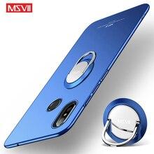 MSVII housse Xiaomi Mi Mix 3 2 S 2 S étui anneau de doigt couverture givrée Xiomi Mix 3 2 S étui support housse pour Xiaomi Mix3 Mix2 S étuis