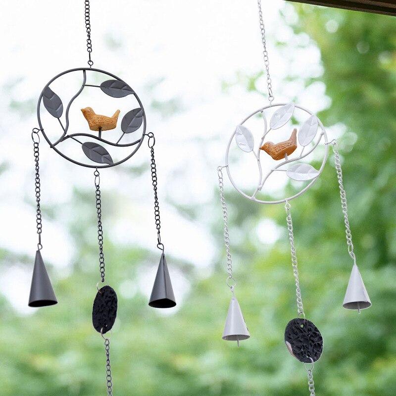 Металлическая форма, железное искусство, ветряная музыка, музыка, креативный украшение в виде колокольчиков, для девочек, подарки на день ро...