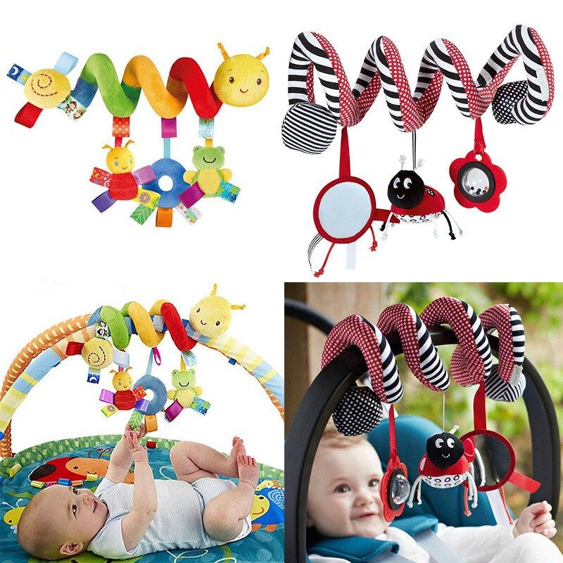 Bébé hochets Mobiles jouets éducatifs pour enfants dentition tout-petits lit cloche bébé jouant jouet enfants poussette suspendus poupées
